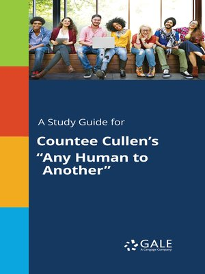 any human to another countee cullen
