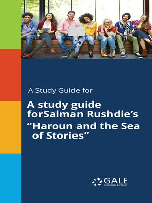 "cover image of A Study Guide for Salman Rushdie's ""Haroun and the Sea of Stories"""