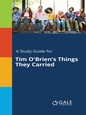 """cover image of A Study Guide for Tim O'Brien's """"Things They Carried"""""""