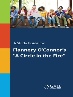 """cover image of A Study Guide for Flannery O'Connor's """"A Circle in the Fire"""""""