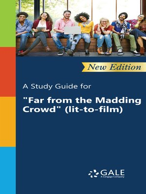 "cover image of A Study Guide for ""Far from the Madding Crowd"" (lit-to-film)"
