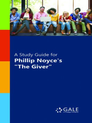 "cover image of A Study Guide for ""The Giver"""