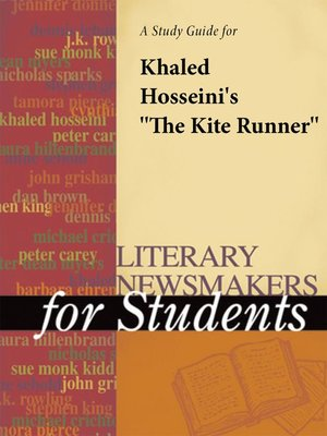 "cover image of A Study Guide for Khaled Hosseini's ""The Kite Runner"""
