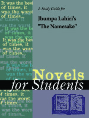 "cover image of A Study Guide for Jhumpa Lahiri's ""The Namesake"""