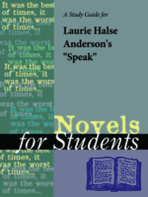 "cover image of A Study Guide for Laurie Halse Anderson's ""Speak"""