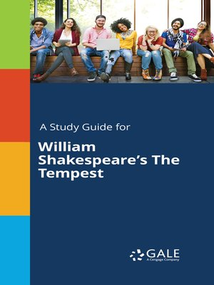 "cover image of A Study Guide for William Shakespeare's ""The Tempest"""