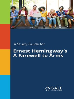 "cover image of A Study Guide for Ernest Hemingway's ""A Farewell to Arms"""