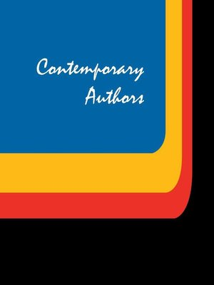 cover image of Contemporary Authors, Volume 405