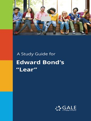 """cover image of A Study Guide for Edward Bond's """"Lear"""""""
