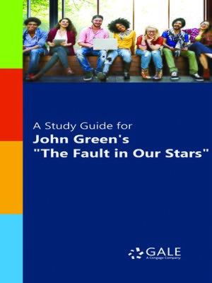 "cover image of A Study Guide for John Green's ""The Fault in Our Stars"""