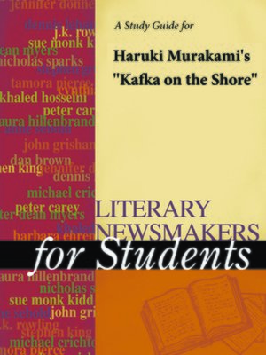 """cover image of A Study Guide for Haruki Murakami's """"Kafka on the Shore"""""""