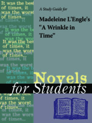 "cover image of A Study Guide for Madeleine L'Engle's ""A Wrinkle in Time"""