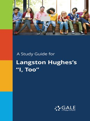"""cover image of A Study Guide for Langston Hughes's """"I, Too"""""""