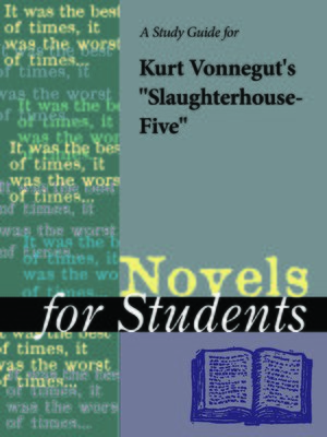 "cover image of A Study Guide for Kurt Vonnegut's ""Slaughterhouse Five"""