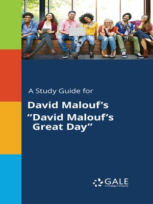 "cover image of A Study Guide for David Malouf's ""David Malouf's Great Day"""