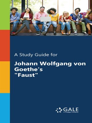 "cover image of A Study Guide for Johann Wolfgang von Goethe's ""Faust"""