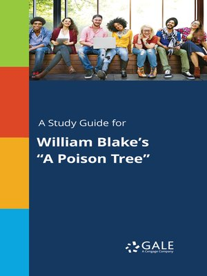 "cover image of A Study Guide for William Blake's ""A Poison Tree"""