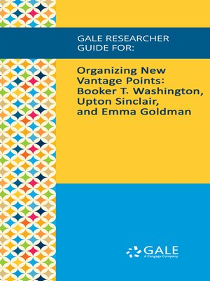 cover image of Gale Researcher Guide for: Organizing New Vantage Points