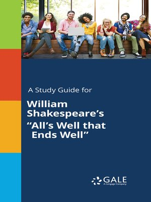 "cover image of A Study Guide for William Shakespeare's ""All's Well that Ends Well"""
