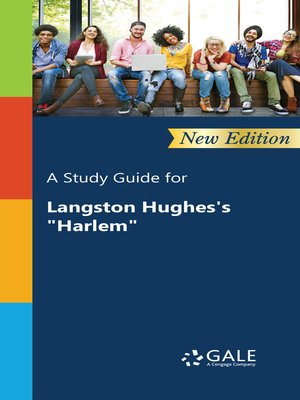"cover image of A Study Guide for Langston Hughes's ""Harlem"""