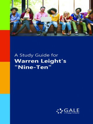 """cover image of A Study Guide for Warren Leight's """"Nine Ten"""""""