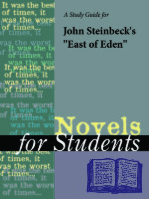 "cover image of A Study Guide for John Steinbeck's ""East of Eden"""