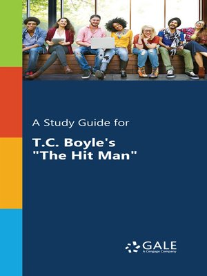 "cover image of A Study Guide for T.C. Boyle's ""The Hit Man"""