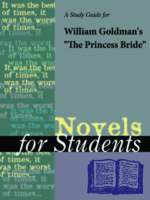 "cover image of A Study Guide for William Goldman's ""The Princess Bride"""