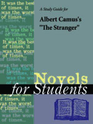 """cover image of A Study Guide for Albert Camus's """"The Stranger"""""""