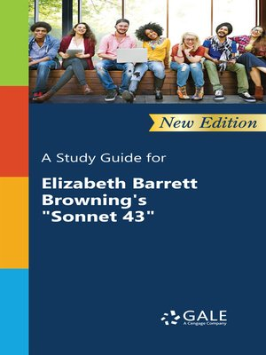 "cover image of A Study Guide for Elizabeth Barrett Browning's ""Sonnet 43"""