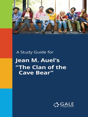 "cover image of A Study Guide for Jean M. Auel's ""The Clan of the Cave Bear"""