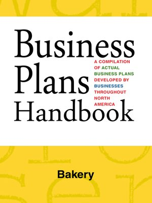 cover image of Business Plans Handbook: Bakery