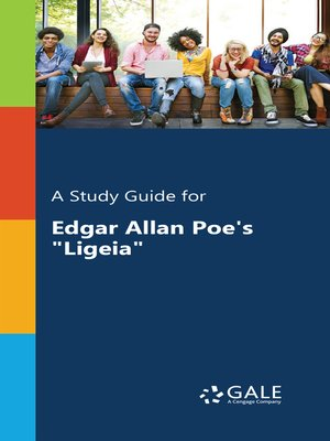 """cover image of A Study Guide for Edgar Allan Poe's """"Ligeia"""""""