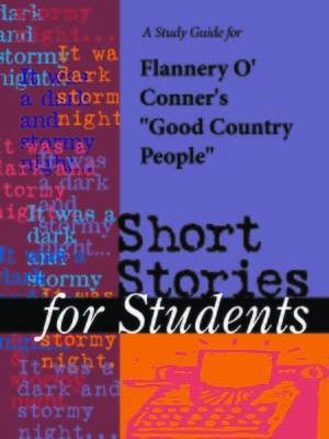an analysis of symbolism in good country people Essays, interpretation of good country people by flannery o'connnor through imagery/symbolism term papers, interpretation of good country people by flannery o'connnor through imagery/symbolism research paper, book reports 184 990 essays, term and research papers available for unlimited access.