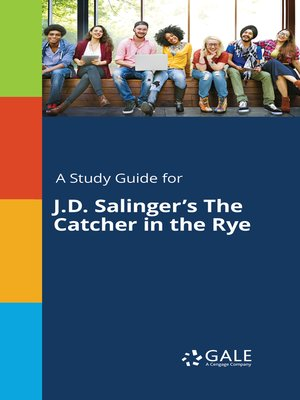 "cover image of A Study Guide for J. D. Salinger's ""The Catcher in the Rye"""