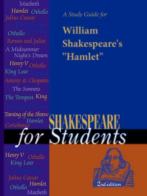 "cover image of A Study Guide for William Shakespeare's ""Hamlet"""
