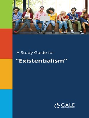 "cover image of A Study Guide for ""Existentialism"""