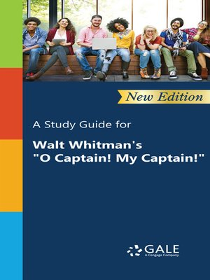 "cover image of A Study Guide for Walt Whitman's ""O Captain! My Captain!"""