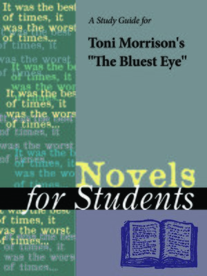 "cover image of A Study Guide for Toni Morrison's ""The Bluest Eye"""