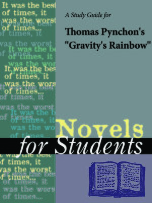 "cover image of A Study Guide for Thomas Pynchon's ""Gravity's Rainbow"""