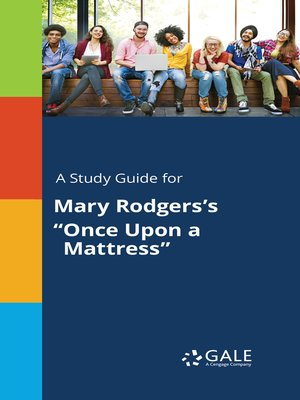 """cover image of A Study Guide for Mary Rodgers's """"Once Upon a Mattress"""""""