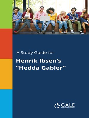 "cover image of A Study Guide for Henrik Ibsen's ""Hedda Gabler"""