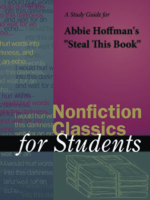 """cover image of A Study Guide for Abbie Hoffman's """"Steal This Book"""""""