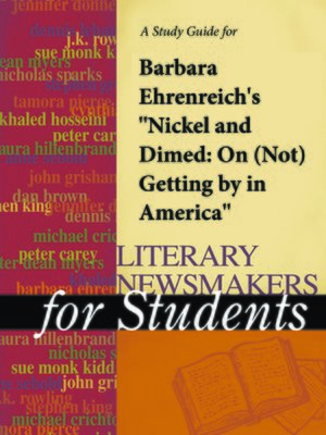 an experiment of survival in nickel and dimed by barbara ehrenreich Nickel and dimed is an eye opening book about the plight of the working poor in our country barbara ehrenreich, a writer with a phd goes undercover as a minimum wage.