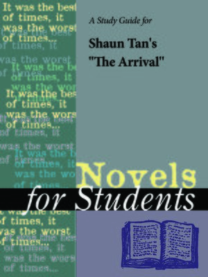 "cover image of A Study Guide for Shaun Tan's ""The Arrival"""
