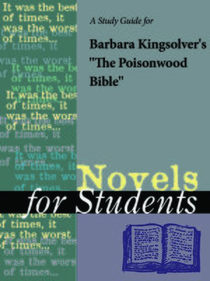 """cover image of A Study Guide for Barbara Kingsolver's """"The Poisonwood Bible"""""""