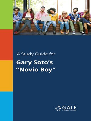 "cover image of A Study Guide for Gary Soto's ""Novio Boy"""