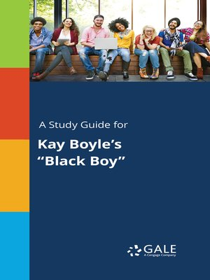 "cover image of A Study Guide for Kay Boyle's ""Black Boy"""