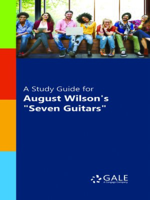 "cover image of A Study Guide for August Wilson's ""Seven Guitars"""