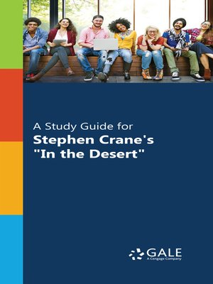 """cover image of A Study Guide for Stephen Crane's """"In the Desert"""""""